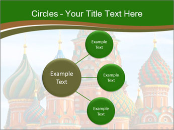 Place In Moscow, Saint Basil's Cathedral PowerPoint Templates - Slide 79