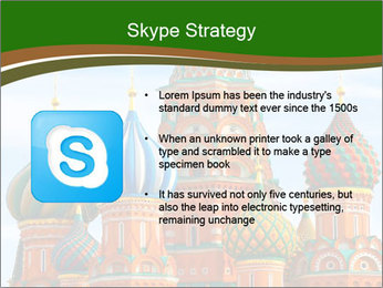 Place In Moscow, Saint Basil's Cathedral PowerPoint Templates - Slide 8