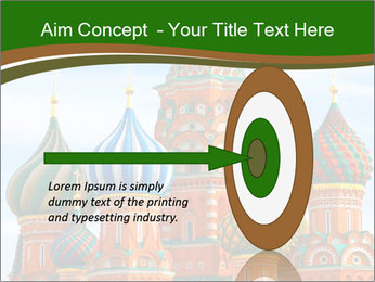 Place In Moscow, Saint Basil's Cathedral PowerPoint Templates - Slide 83