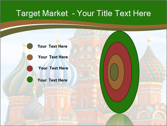Place In Moscow, Saint Basil's Cathedral PowerPoint Templates - Slide 84