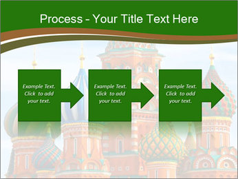 Place In Moscow, Saint Basil's Cathedral PowerPoint Templates - Slide 88