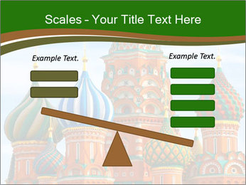 Place In Moscow, Saint Basil's Cathedral PowerPoint Templates - Slide 89