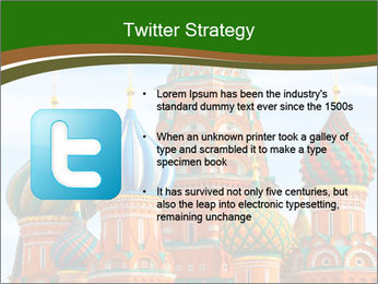 Place In Moscow, Saint Basil's Cathedral PowerPoint Templates - Slide 9