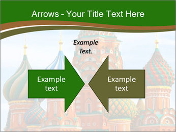 Place In Moscow, Saint Basil's Cathedral PowerPoint Templates - Slide 90