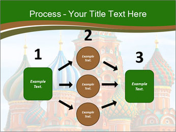 Place In Moscow, Saint Basil's Cathedral PowerPoint Templates - Slide 92
