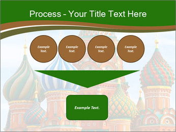 Place In Moscow, Saint Basil's Cathedral PowerPoint Templates - Slide 93