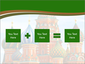 Place In Moscow, Saint Basil's Cathedral PowerPoint Templates - Slide 95
