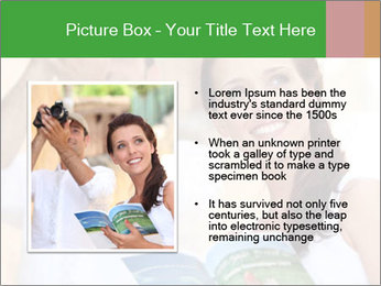 Tourists with camera PowerPoint Template - Slide 13