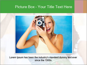 Tourists with camera PowerPoint Template - Slide 15