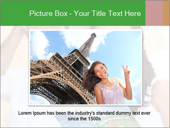 Tourists with camera PowerPoint Template - Slide 16