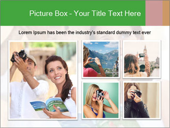 Tourists with camera PowerPoint Template - Slide 19