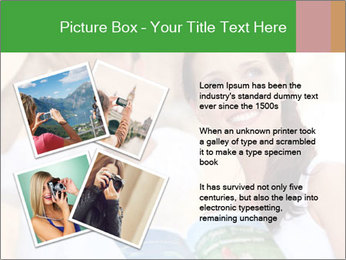 Tourists with camera PowerPoint Template - Slide 23