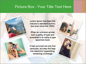 Tourists with camera PowerPoint Template - Slide 24