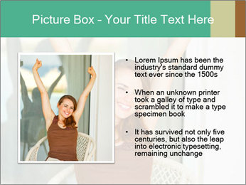 Beautiful woman PowerPoint Template - Slide 13