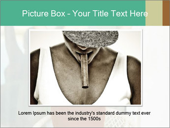 Beautiful woman PowerPoint Template - Slide 15