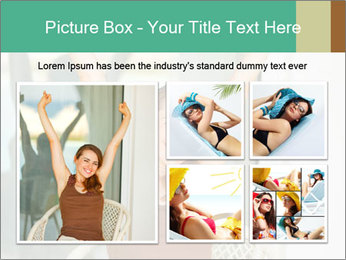 Beautiful woman PowerPoint Template - Slide 19