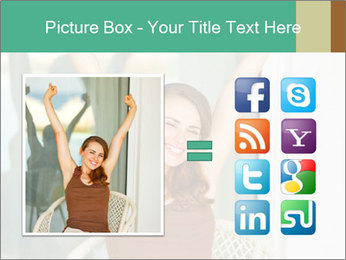 Beautiful woman PowerPoint Template - Slide 21