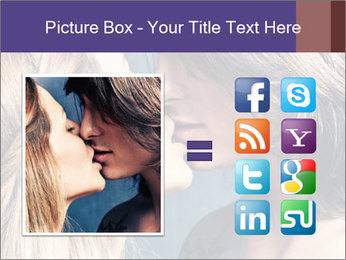 Couple kissing PowerPoint Templates - Slide 21
