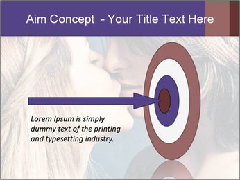 Couple kissing PowerPoint Templates - Slide 83