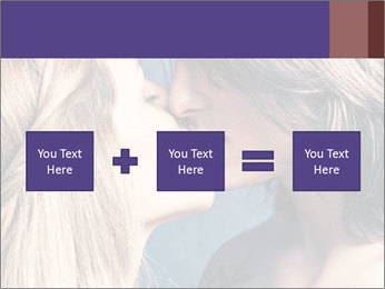 Couple kissing PowerPoint Templates - Slide 95