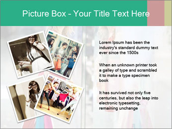 Photo of young joyful woman PowerPoint Template - Slide 23