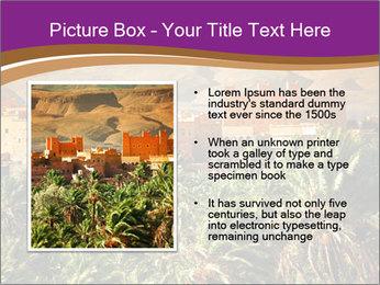 Moroccan kasbah PowerPoint Template - Slide 13