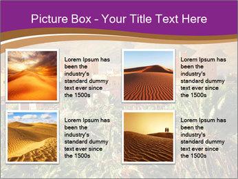Moroccan kasbah PowerPoint Template - Slide 14