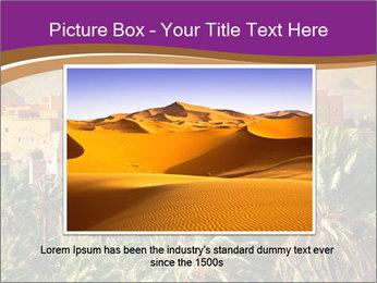 Moroccan kasbah PowerPoint Templates - Slide 15