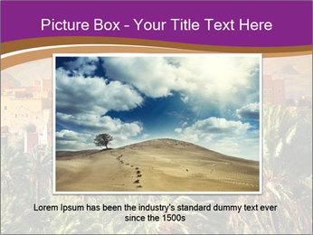 Moroccan kasbah PowerPoint Template - Slide 16