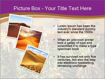 Moroccan kasbah PowerPoint Template - Slide 17