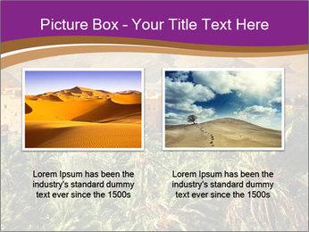 Moroccan kasbah PowerPoint Template - Slide 18
