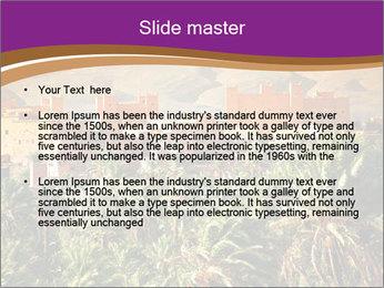 Moroccan kasbah PowerPoint Templates - Slide 2