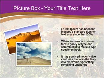 Moroccan kasbah PowerPoint Template - Slide 20