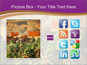 Moroccan kasbah PowerPoint Template - Slide 21