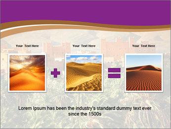 Moroccan kasbah PowerPoint Template - Slide 22