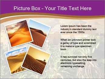 Moroccan kasbah PowerPoint Template - Slide 23