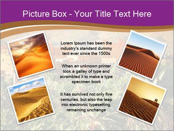 Moroccan kasbah PowerPoint Template - Slide 24