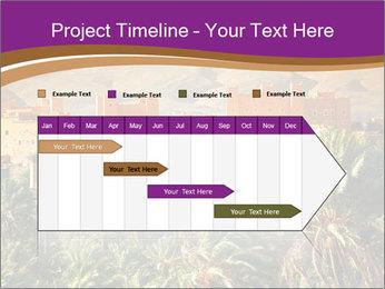 Moroccan kasbah PowerPoint Templates - Slide 25