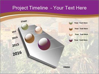 Moroccan kasbah PowerPoint Template - Slide 26