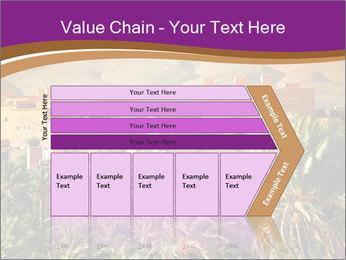 Moroccan kasbah PowerPoint Template - Slide 27