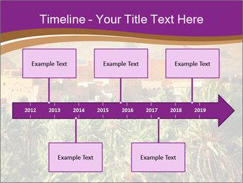 Moroccan kasbah PowerPoint Template - Slide 28