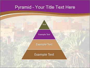 Moroccan kasbah PowerPoint Template - Slide 30