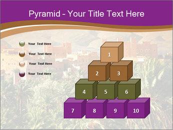 Moroccan kasbah PowerPoint Template - Slide 31