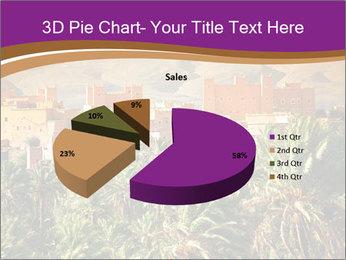 Moroccan kasbah PowerPoint Template - Slide 35