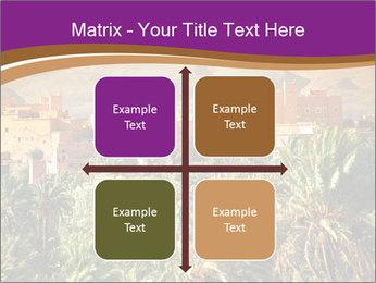 Moroccan kasbah PowerPoint Template - Slide 37