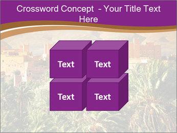 Moroccan kasbah PowerPoint Template - Slide 39