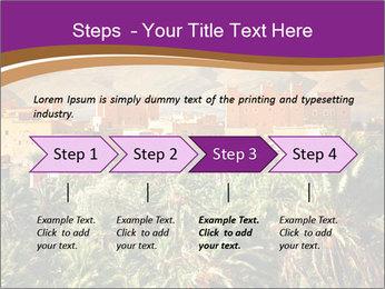 Moroccan kasbah PowerPoint Template - Slide 4