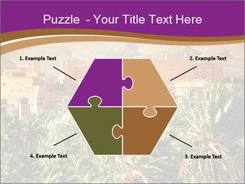 Moroccan kasbah PowerPoint Template - Slide 40