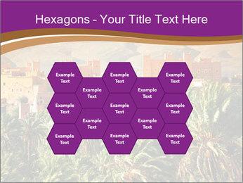Moroccan kasbah PowerPoint Template - Slide 44