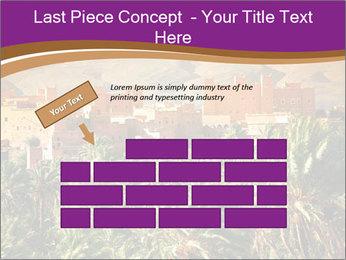 Moroccan kasbah PowerPoint Template - Slide 46